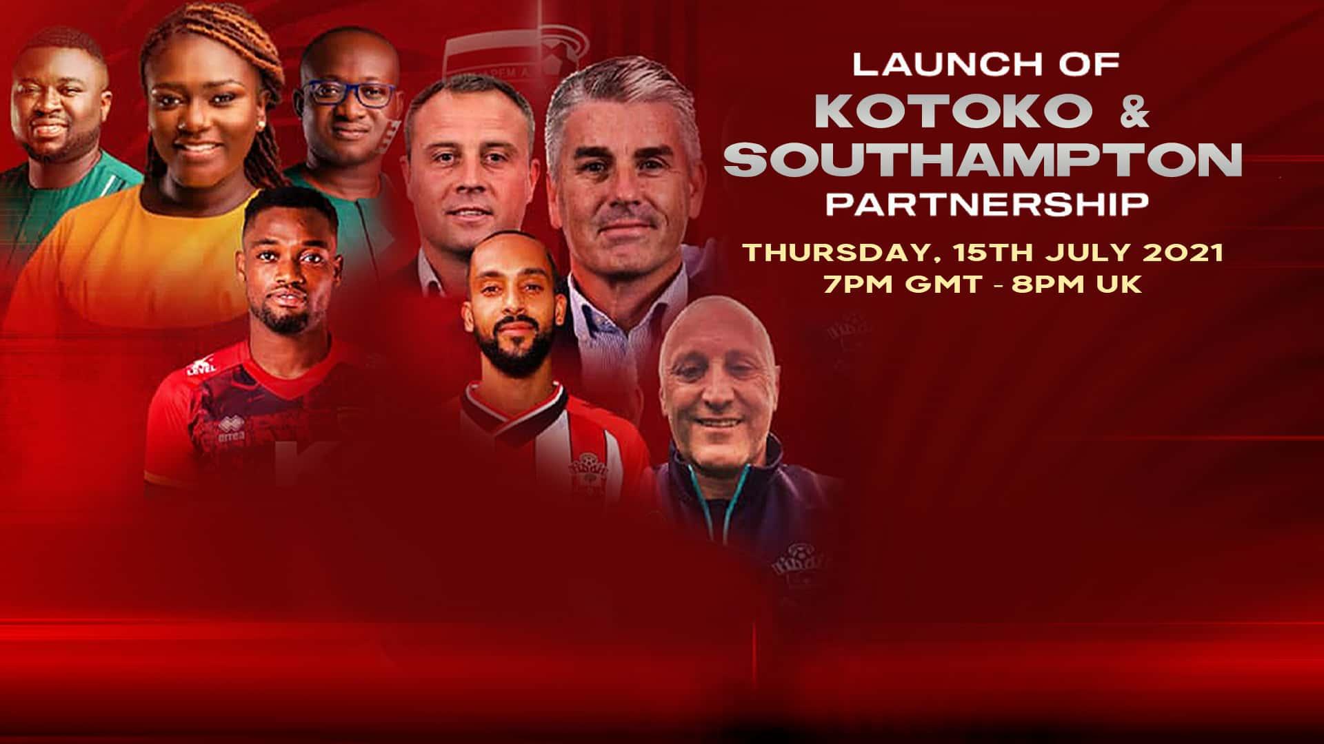 Asante Kotoko & Southampton Partnership