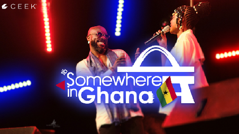 Somewhere in Ghana