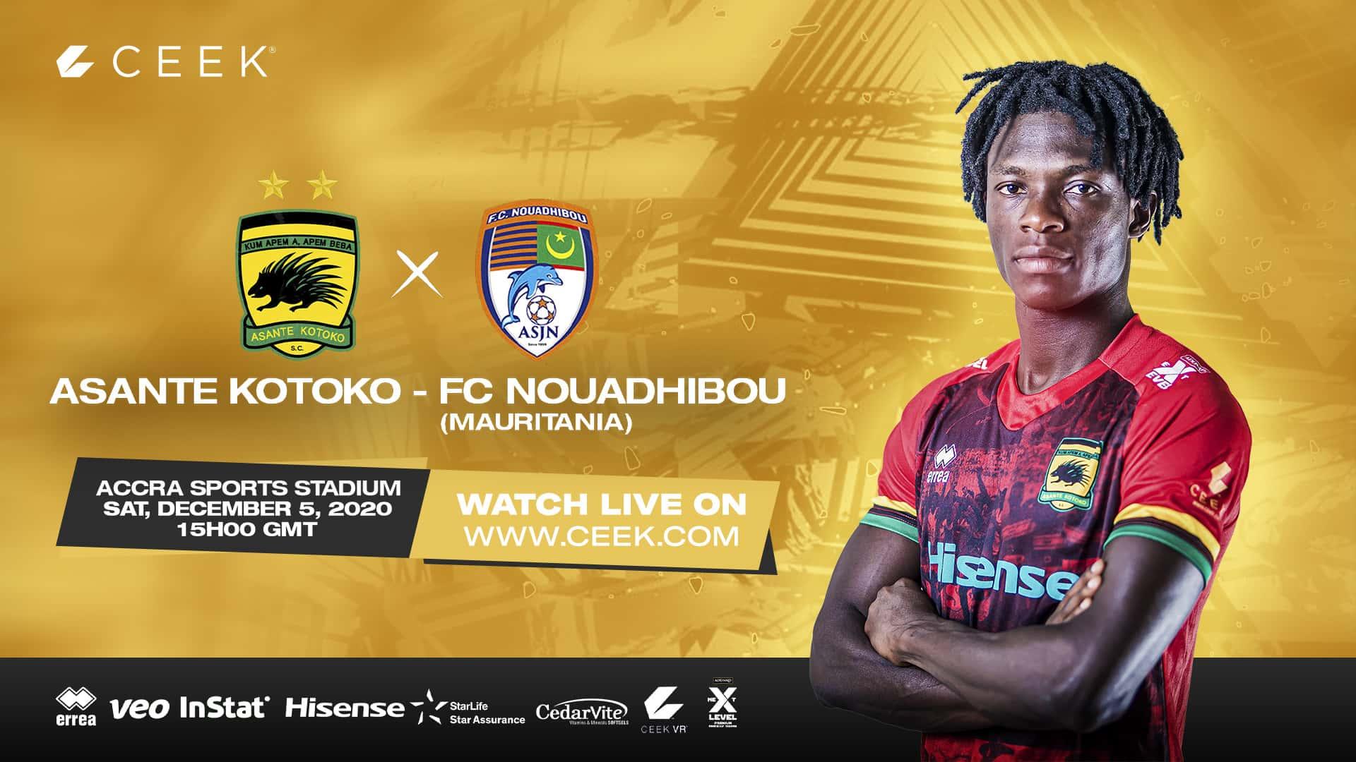 Asante Kotoko vs FC Nouadhibou